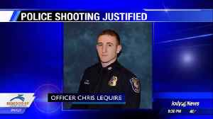 Spokane Police officer justified in December 2017 shooting [Video]