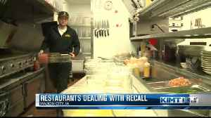 Food service dealing with romaine recall [Video]