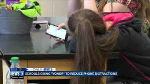 Schools going 'Yondr' to reduce phone distractions [Video]