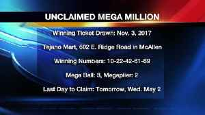 Wednesday Last Day to Claim $2M Lottery Ticket [Video]