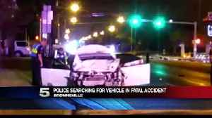 Brownsville Police Search for Vehicle Involved in Fatal Crash [Video]