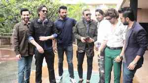 Paltan Star Cast |  Paltan Movie Promotions At Novotel Hotel Juhu  -  SPOTTED [Video]