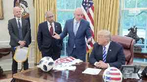 Trump Meets FIFA To Talk About World Cup Soccer In 2026 [Video]