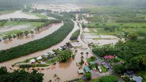 Drone footage shows severe flooding in Hawaiian county [Video]