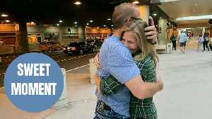 BIRTH FAMILY - Sweet moment adopted woman hugs her biological dad who never knew she existed [Video]