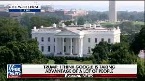Fox News' Shepard Smith Baffled by Trump's Google Comments: [Video]