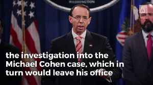 Opinion | NY Post Bombshell Report Means Rosenstein Massively Rigged Cohen Trial [Video]