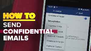 How to send confidential emails with the Gmail app [Video]