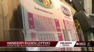 Trips to Louisiana to buy lottery tickets soon to be thing of the past for Mississippians [Video]