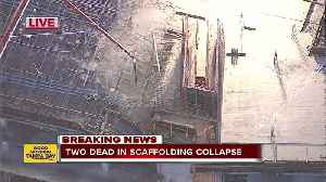 2 killed after scaffolding collapses near Disney [Video]
