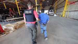 160 People Arrested by Immigration Agents in Texas Workplace Raid [Video]
