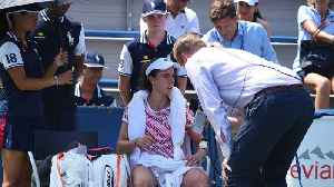 Open Officials Apologize To Cornet [Video]