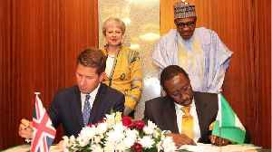 News video: British PM May Looks To Boost Economic & Security Ties With Nigeria