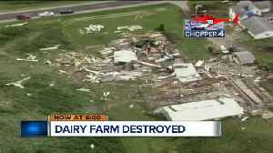 Dairy Farm Destroyed in Fond Du Lac County [Video]