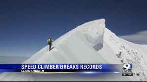 SPEED CLIMBER BREAKS RECORDS [Video]
