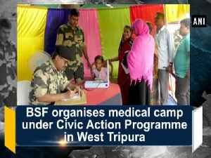 BSF organises medical camp under Civic Action Programme in West Tripura [Video]
