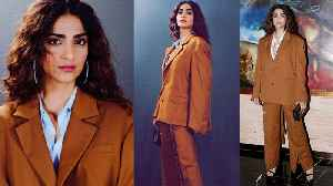 Sonam Kapoor's look revealed for movie Zoya Factor, Check Out | FilmiBeat [Video]