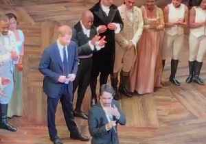 Prince Harry Briefly Auditions for Hamilton Role After Gala Performance [Video]