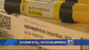 Kaiser Stops Charging 2 Co-Payments For EpiPen Prescriptions Following Complaints [Video]