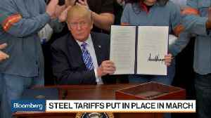 Trump Excludes South Korea, Brazil, Argentina Steel From Import Tariffs [Video]