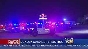One Killed, Three Wounded After Cabaret Gun Battle [Video]