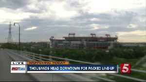Expect Downtown Congestion For Titans Game, Concerts [Video]