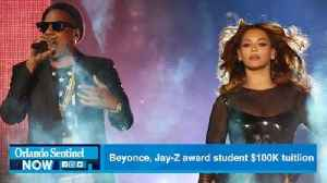 Beyonce, Jay-Z award Evans High student $100K for college tuition [Video]