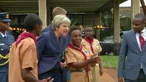 UK's May joins Kenyan scouts for a boogie [Video]
