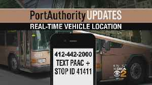 Port Authority Launches New Tools To Track Buses, Light Rail Vehicles [Video]