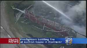 Fire Destroys Westmoreland Co. Auction House [Video]