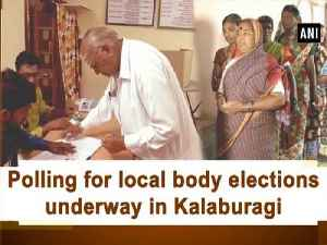 Polling for local body elections underway in Kalaburagi [Video]