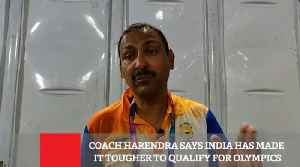 Coach Harendra Says India Has Made It Tougher To Qualify For Olympics [Video]