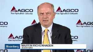 AGCO CEO Looks to Stay Positive Amid Trade Wars, Global Drought [Video]