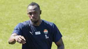 Usain Bolt Makes His Soccer Debut With Australia's Central Coast Mariners [Video]