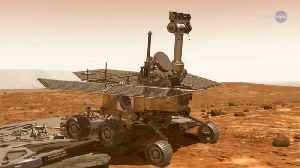NASA's Opportunity Rover Has 45 days to Phone Home Otherwise it's a Goner [Video]