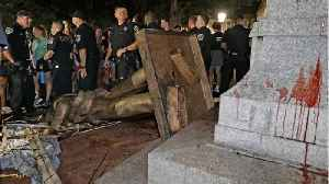 University of North Carolina to relocate toppled Confederate statue [Video]