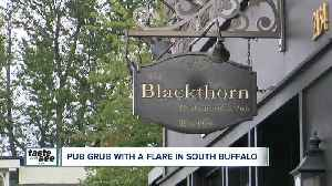 Pub grub with a flair offered at the Blackthorn [Video]