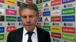 Puel: We deserved more [Video]