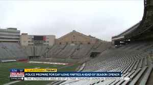 UW-Madison, police prepare for a busy day of drinking, partying ahead of season opener [Video]