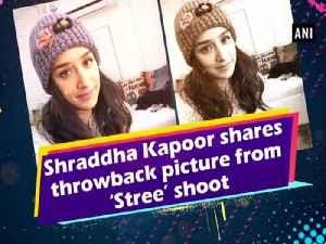 Shraddha Kapoor shares throwback picture from 'Stree' shoot [Video]