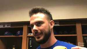 Kris Bryant on his return to the Cubs' lineup: 'I'll continue to get better as I go along' [Video]