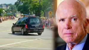 Mourners Line the Streets as John McCain is Taken to His Final Resting Place [Video]