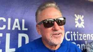 Cubs manager Joe Maddon on allowance of information cards in baseball [Video]