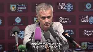 Jose Mourinho reacts to Man United's win over Burnley [Video]