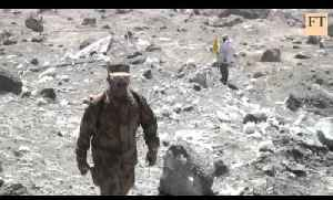 Avalanche aftermath in Pakistan [Video]