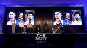 Messi out: Fifa men's player of the year shortlist includes Ronaldo, Salah and Modric [Video]