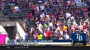 Brandon Lowe homers, drives in three runs as Tampa Bay Rays hold off Cleveland Indians 6-4 [Video]