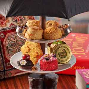 Mary Poppins afternoon tea [Video]