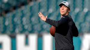 Eagles Name Nick Foles Week 1 Starter As Carson Wentz Continues Recovery [Video]