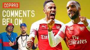 Can Aubameyang and Lacazette Finally Play Together?   Comments Below [Video]
